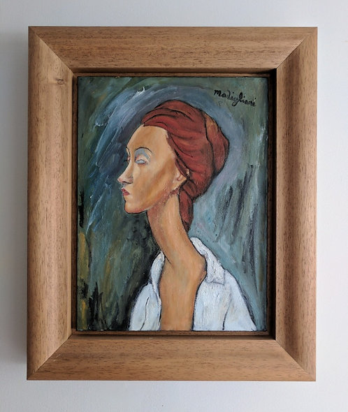 After Amedeo Modigliani 'Portrait Of Lunia Czechowska'