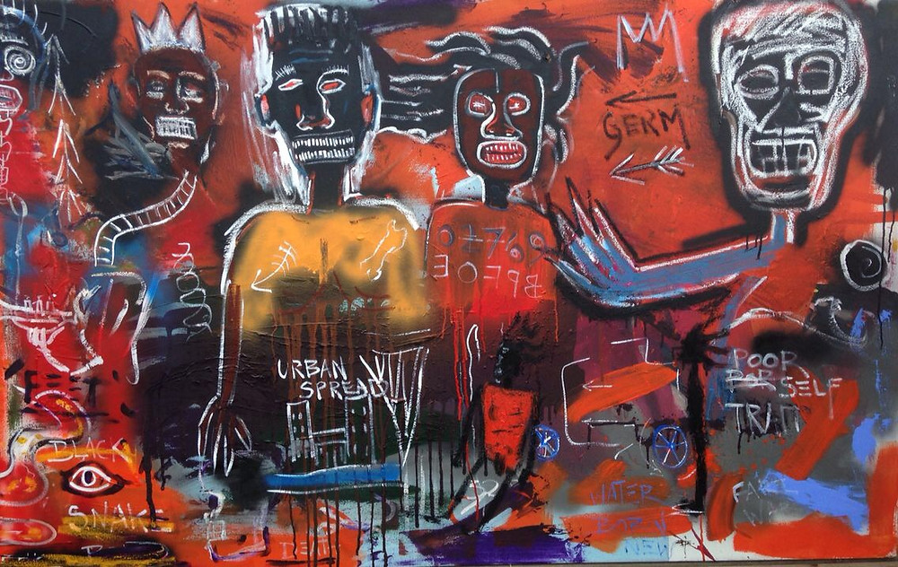 Basquiat | Copy | David Henty Art | Blog