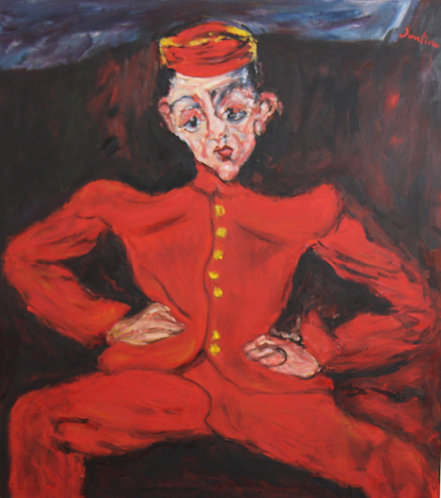 After Chaim Soutine The Bellboy 1925