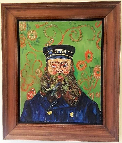 After Vincent van Gogh The Postman 1889
