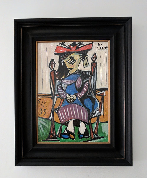 After Pablo Picasso 'Femme Assise'