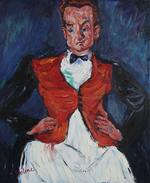 After Chaim Soutine Head Waiter 1927