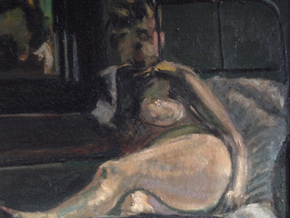 Painting Of The Week - David Henty's recreation of Walter Sickert 'La Hollandaise'