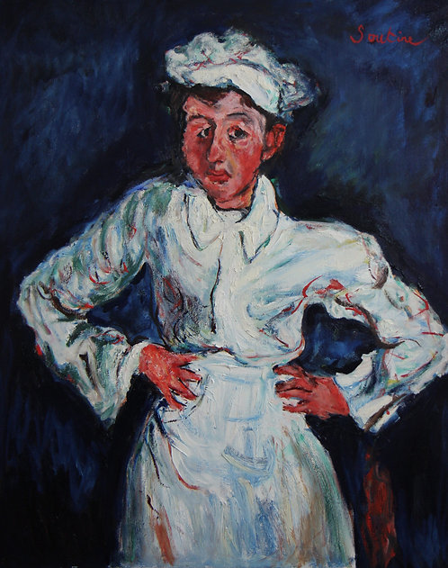 After Chaim Soutine The Little Pastry Cook 1927