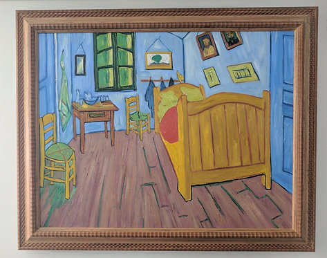 After Vincent Van Gogh 'The Bedroom'