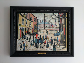 Painting Of The Week - David Henty's recreation of L.S Lowry 'The Procession'