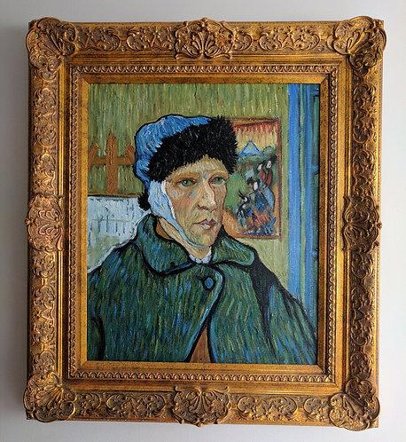 After Vincent Van Gogh 'Self Portrait With Bandaged Ear'