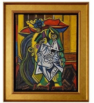After Pablo Picasso 'Weeping Woman'