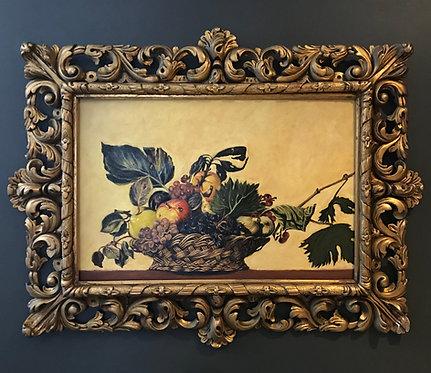 After Caravaggio 'Basket of Fruit'