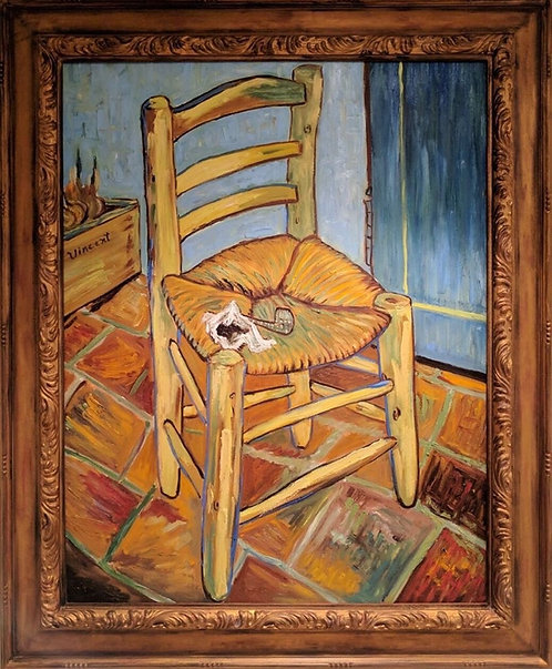 After Vincent van Gogh The Chair 1888