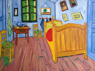 Painting Of The Week - David Henty's recreation of Van Gogh 'The Bedroom'