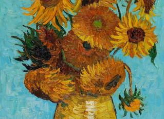 Painting Of The Week - David Henty's recreation of Van Gogh 'Sunflowers'