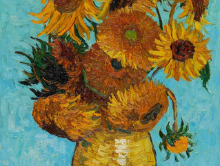 Painting Of The Week - David Henty's recreation of Van Gogh 'Sunflowers'
