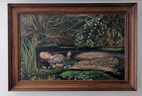 After John Everett Millais 'Ophelia'