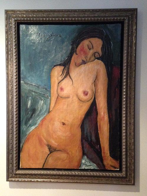 After Amedeo Modigliani 'A Female Nude'