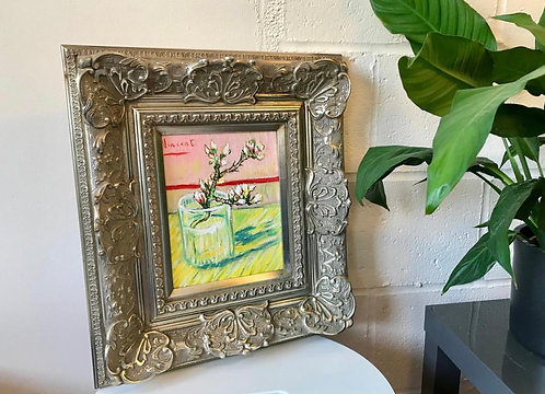 After Vincent van Gogh Blossoming Almond Branch in a Glass