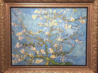 Spring and The Almond Blossoms