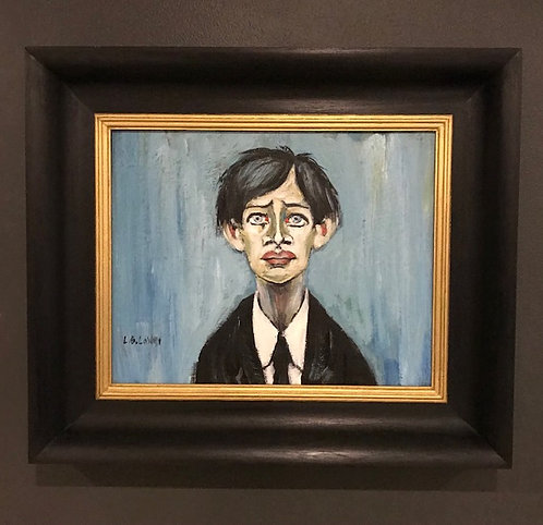 After L.S Lowry 'A Young Man'
