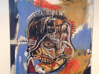 Painting Of The Week - David Henty's recreation of Jean-Michel Basquiat