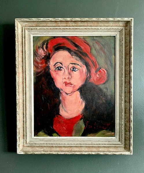 After Chaim Soutine 'Portrait of a Young Girl'