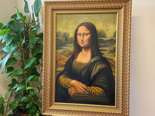 Painting of the Month – The Mona Lisa