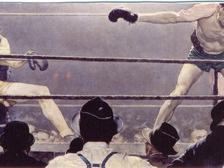 Painting Of The Week - David Henty's recreation of Norman Rockwells 'Strictly A Sharpshooter