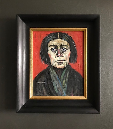 After L.S. Lowry 'Portrait of a Woman'