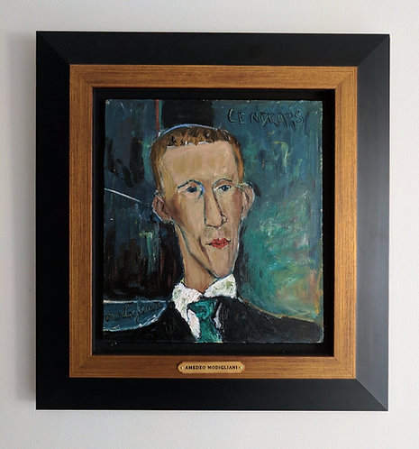 After Amedeo Modigliani 'Portrait Blaise Cendrars'
