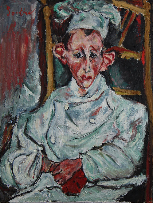 After Chaim Soutine The Pastry Cook of Cagnes 1922-1923