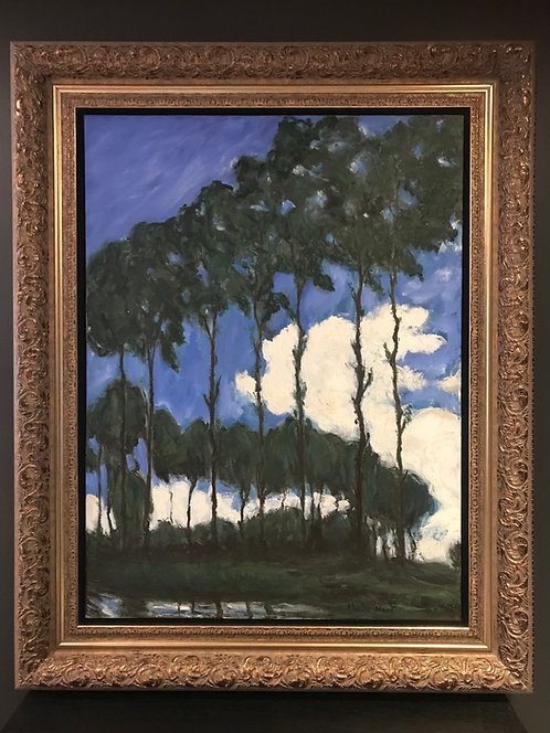 Poplars on the Epte After Claude Monet