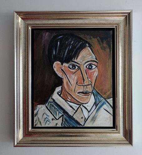 After Pablo Picasso 'Self Portrait'