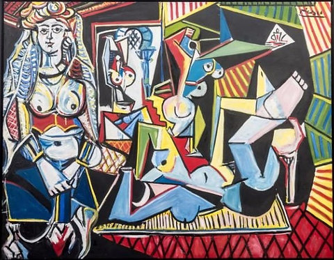 After Pablo Picasso 'The Woman of Algiers'