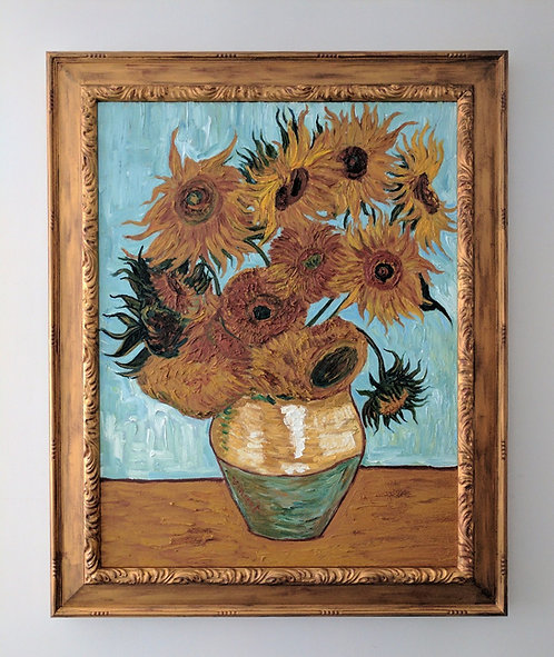 After Vincent Van Gogh 'Sunflowers'