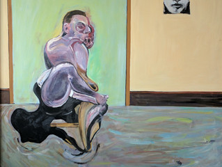 Painting Of The Week - David Henty's recreation of Francis Bacon 'Posthumous Portrait of Geo