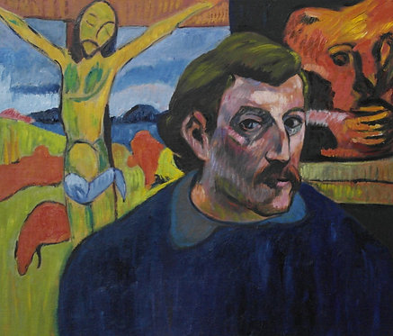 After Paul Gauguin 'Self Portrait With The Yellow Christ'