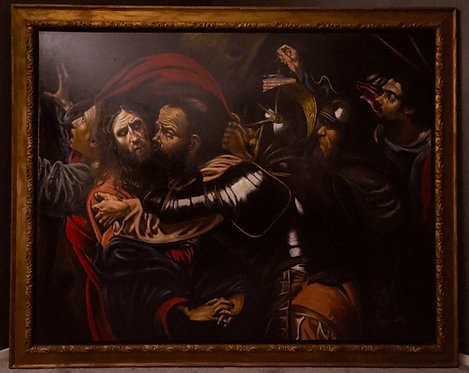 After Michelangelo Merisi Da Caravaggio 'The Taking Of Christ'