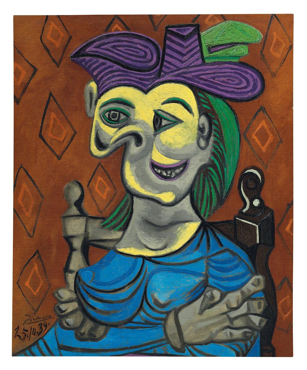Picasso Femme Assise | David Henty Art | Blog