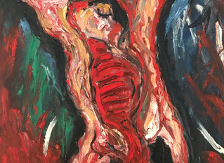 Painting of the Month 'Carcasse de Boeuf' after Chaim Soutine