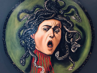 Painting of the Month - Medusa