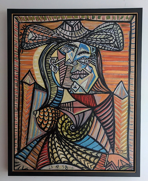 After Pablo Picasso 'The Seated Woman'