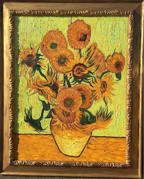 After Vincent van Gogh Sunflowers 1888