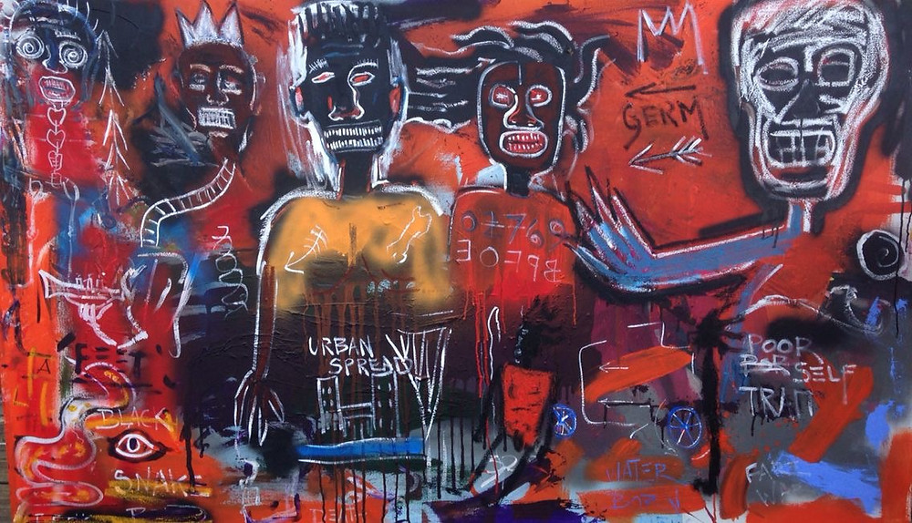Basquiat | Original | David Henty Art | Blog