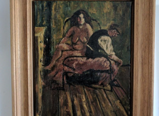 Painting Of The Week - David Henty's recreation of Walter Sickert 'Dawn Camden Town'