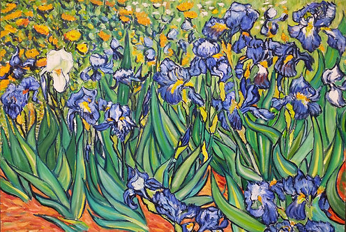 After Vincent van Gogh Irises