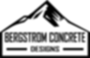 Bergstrom Concrete Designs Logo