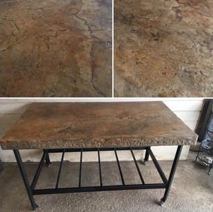 Concrete Island/ Table