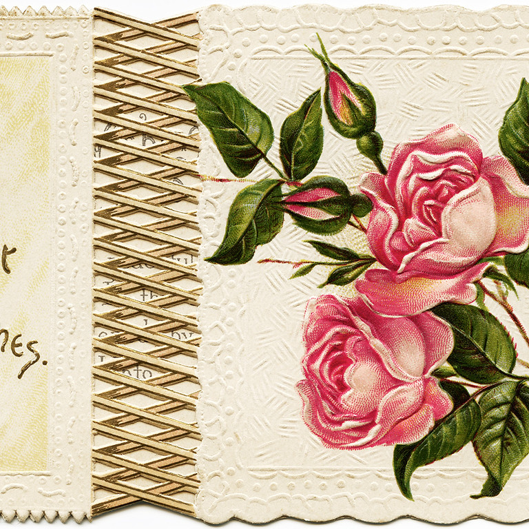Café for Care Partners: Victorian Holiday Card-Making and Beyond, an Online Workshop