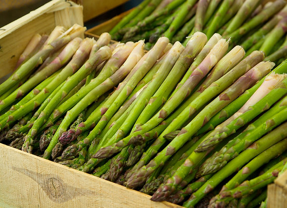 Field Run Asparagus (unsorted/uncut)
