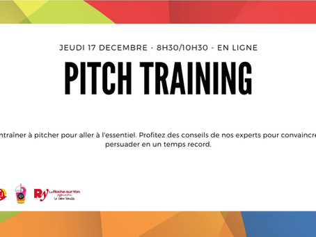 5 Fév. - Pitch Training
