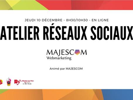 10 Déc. 2020 - Atelier Réseaux Sociaux